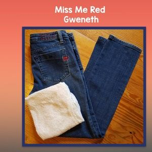 Miss Me Red Gweneth Jeans